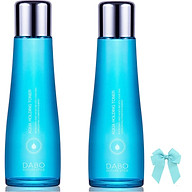 Combo 2 chai nước hoa hồng Dabo Aqua Holding Toner dưỡng da mềm mịn trắng sáng (150ml) Hàn quốc và kẹp nơ thumbnail