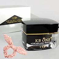 Kem Ngừa mụn trắng da, mờ thâm cao cấp Kbone (VIP đen 15g) - Tặng Kèm Cột Tóc Nữ Tính Ngẫu Nhiên thumbnail