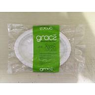 Dĩa giấy hột xoài bã mía Thái Lan 8 inch (10 cái xấp) - thương hiệu Gracz thumbnail