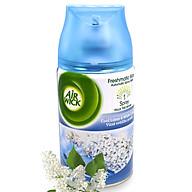 Bình xịt tinh dầu thiên nhiên Air Wick Cool Linen & White Lilac 250ml QT016834 - hoa tử đinh hương thumbnail