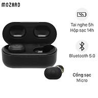 Tai nghe Bluetooth True Wireless Mozard DS635-WB Đen - Hàng Chính Hãng thumbnail
