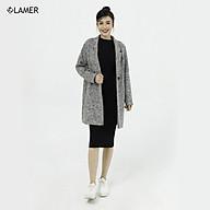 Áo choàng dạ suông túi cơi LAMER L65W20T034 thumbnail