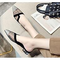 Giày Dép Bít Mũi Lưới Thời Trang Cao Cấp NineRed BM002 thumbnail
