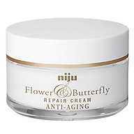 Kem dưỡng chống lão hóa KONAD NIJU Flower & Butterfly Repair Antip-Aging Cream 50ml with ILOJE Peptide Hydrogel Eye Patch 1EA thumbnail