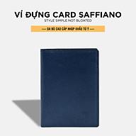 Ví Da Nam Pagini Da Saffiano Cao Cấp - Kiểu Dáng Đứng - Thiết Kế Nhỏ Gọn - VID03 thumbnail
