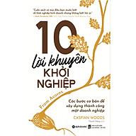 10 Lời Khuyên Khởi Nghiệp (Quà Tặng Tickbook Đặc Biệt) thumbnail