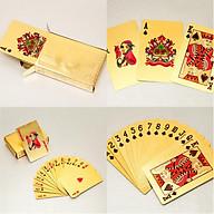 Bộ Bài Tây Poker Màu Vàng (Kèm Miếng Dán Mèo Thần Tài) - Giao Mẫu Ngẫu Nhiên thumbnail