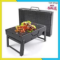 Bếp Nướng Than Hoa BBQ Ngoài Trời Hình Vuông - Hình Tròn Cao Cấp - T2K Shop thumbnail