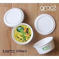 10 hộp kèm nắp bã mía Thái lan 350ml - thương hiệu Gracz thumbnail