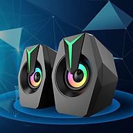 Loa Để Bàn Công Suất Lớn FT-K8 Thiết Kế Hiện Đại Có Đèn Led RGB Nổi Bật Dùng Cho Tivi Máy Vi Tính PC Laptop thumbnail