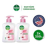 Combo 2 chai nước rửa tay Dettol kháng khuẩn dưỡng da - Chai 250g thumbnail