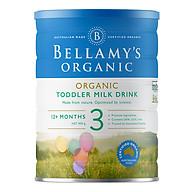 Sữa Công Thức Hữu Cơ Bước 3 Bellamy s Organic (900g) thumbnail