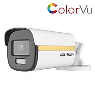 Camera HDTVI ColorVu Có Màu Ban Đêm 2MP HIKVISION DS-2CE12DF3T-F_Hàng Chính Hãng thumbnail