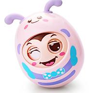 Lật đật cho bé hình chú ong nhắm mở mắt ngộ nghĩnh có tiếng chuông vui tai cho bé trai và bé gái DC042 thumbnail