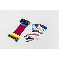 Ruy băng mực màu YMCKO máy in thẻ nhựa SOLID 310 510 series - 250 lần in cuộn - In được 125 thẻ in màu 2 mặt - Màu in sắc nét - Công nghệ thẩm thấu thăng hoa cao cấp - Hàng chính hãng thumbnail