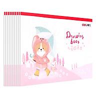 Vở Vẽ Học Sinh A4 Deli 20 Trang - Màu Hồng Xanh - 1 Quyển - 73382 thumbnail