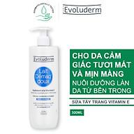 Sữa Tẩy Trang Evoluderm Chiết Xuất Vitamin E Dành Cho Da Thường 500ml thumbnail