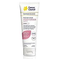 Kem chống nắng cho da mặt Cancer Council Face Day Wear SPF 50+ PA++++ 75ml thumbnail