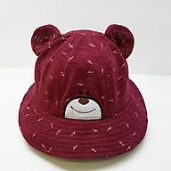 Nón Vành Bé Trai và Bé Gái Tai Gấu Cao Cấp Duy Ngọc Size 50 Dành Cho Bé Từ 2 Đến 4 Tuổi (5198) thumbnail