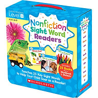 Nonfiction Sight Word Readers Guided Reading Level B (Parent Pack) thumbnail