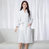 Áo choàng tắm 100% cotton, áo choàng tắm khách sạn, Spa, Homestay thumbnail