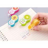Bút xóa kéo hoa quả siêu xinh xắn tiện dụng mini cho học sinh và các bạn văn phòng (Giao màu ngẫu nhiên) E414 thumbnail