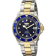 Invicta Men s 17045 Pro Diver Analog Display Japanese Automatic Two Tone Watch thumbnail