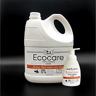 Nước rửa tay hữu cơ diệt khuẩn dạng bọt hương Cam 4000ml thương hiệu Ecocare ( tặng kèm vỏ tạo bọt) thumbnail