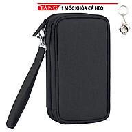 Túi đựng phụ kiện điện thoại pin dự phòng cao cấp GH09 Tặng móc khóa cá heo thumbnail