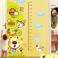 Decal dán tường trang trí phòng cho lớp mầm non- Thước đo tán tròn ngộ nghĩnh- mã sp DXY1129 thumbnail