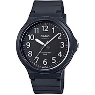 Casio MW-240-1BVEF Mens Core Oversized Black Resin Strap Watch thumbnail