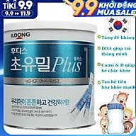 Sữa Non Cho Trẻ Sơ Sinh 0-12 Tháng Tuổi ILDong Foodis Plus 1 NK Hàn Quốc Chứa Hàm Lượng Chất Dinh Dưỡng Cao Giúp Phát Triển Trí Não, Xương, Răng Và Thị Lực, Tăng Hệ Miễn Dịch, Tạo Hệ Tiêu Hóa Khỏe Mạnh - Hộp 100 gói (gói 1g) thumbnail