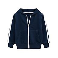 Áo khoác Hoodie cho bé 27KIDS áo da cá phong cách thể thao chất cotton hàng xuất Âu Mỹ thumbnail