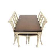 Bộ bàn ghế gỗ phong cách cổ điển thumbnail