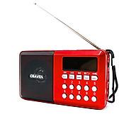 Radio mini nghe đài, nghe nhạc thẻ nhớ, USB, nghe kinh phật Craven CR-65 - có đèn pin (hàng nhập khẩu) thumbnail