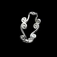 Nhẫn Nữ Bạc Hiểu Minh NU484 - Bảo Hành Vĩnh Viễn ( Hàng Chính Hãng ) thumbnail