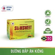 Đường Bắp Ăn Kiêng SLIMSWEET Hộp 50 gói - Dành cho người kiêng đường, tiểu đường và có chế độ ăn đặc biệt thumbnail