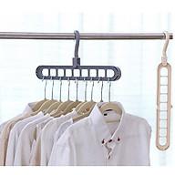 Combo 2 móc treo quần áo đa năng chịu lực tốt thumbnail