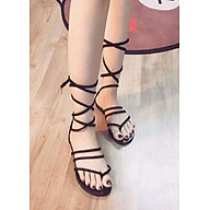 Sandal cột dây bít gót - D80 thumbnail