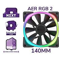 Quạt cho case máy tính NZXT AER RGB 2 - 140mm - Hàng Chính Hãng thumbnail