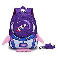 Balo cho trẻ em đi học in hình TN00 cao cấp kèm dây chống đi lạc Tặng combo 4 món thumbnail