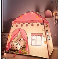 Lều ngủ công chúa , hoàng tử cho bé trai bé gái (kt130x100x130cm) thumbnail