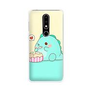 Ốp lưng điện thoại Nokia 6.1 plus X6 - 01171 7872 DINOSAURS03 - Silicon dẻo - Hàng Chính Hãng thumbnail