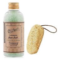 Muối ngâm sả chanh tặng xơ mướp - Lemongrass Bath Salt (200g) thumbnail