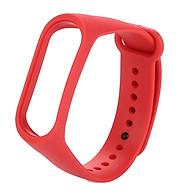 Dây Silica Gel Thay Thế Cho Đồng Hồ Xiaomi Bracelet 3 thumbnail
