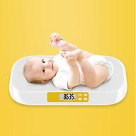 Cân trẻ em điện tử tải trọng 20kg cao cấp (CHÍNH XÁC, AN TOÀN, TIỆN LỢI)- Tặng bộ 100 miếng dán dạ quang hình ngôi sao thumbnail