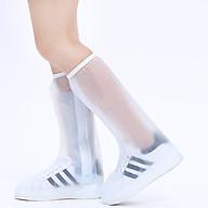 Ủng, Túi PVC Bọc Giày Đi Mưa Cao Cổ Có Đế Chống Trơn ALUVI TDM02 Chống Nước, Chổng Bẩn Tuyệt Đối thumbnail