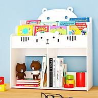 [ƯU ĐÃI HOT] Kệ sách hình gấu để bàn lớn dành cho bé trai và bé gái thiết kế độc đáo TXT04 thumbnail