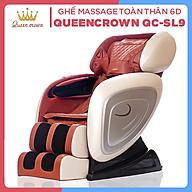 Ghế Massage Toàn Thân Công Nghệ Nhật Bản QUEEN CROWN QC-SL-9 6D thumbnail