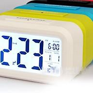 Đồng hồ điện tử báo thức cảm biến ánh sáng - 1019 (màu ngẫu nhiên) thumbnail